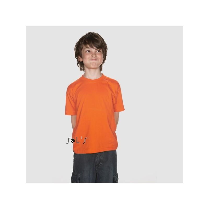 T-Shirt col rond enfant couleur 150 g Sol's - Regent Kids - 11970C