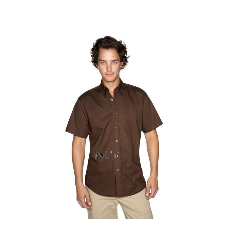 Chemisette Publicitaire homme Brooklyn - chemise publicitaire homme sur mesure