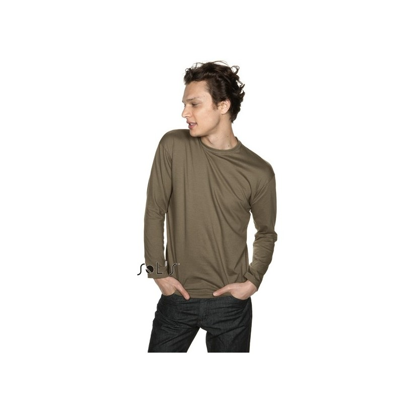 Tee shirt publicitaire pour homme manches longues