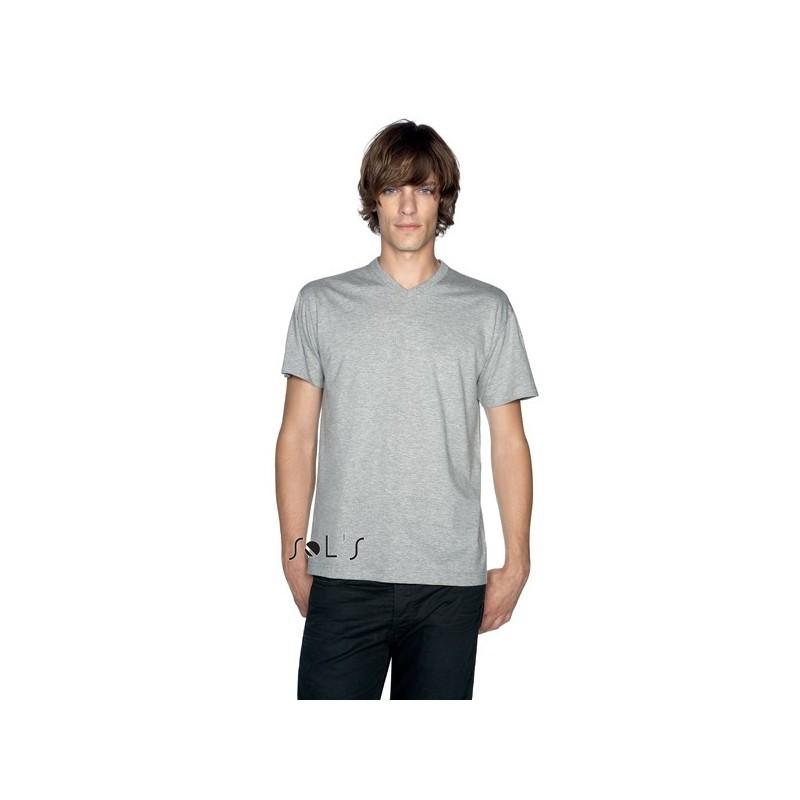 T-shirt col V Victory pour homme - T-shirt col V - marquage logo