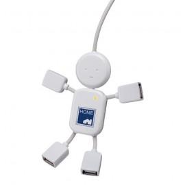 Hub USB bonhomme