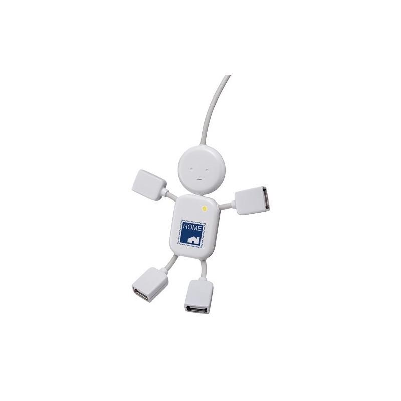 51-259 Hub USB bonhomme personnalisé