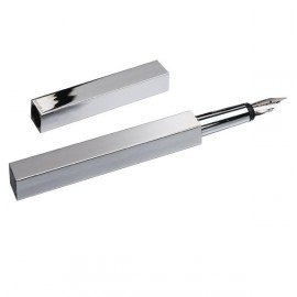 Plume Square Silver Smalto