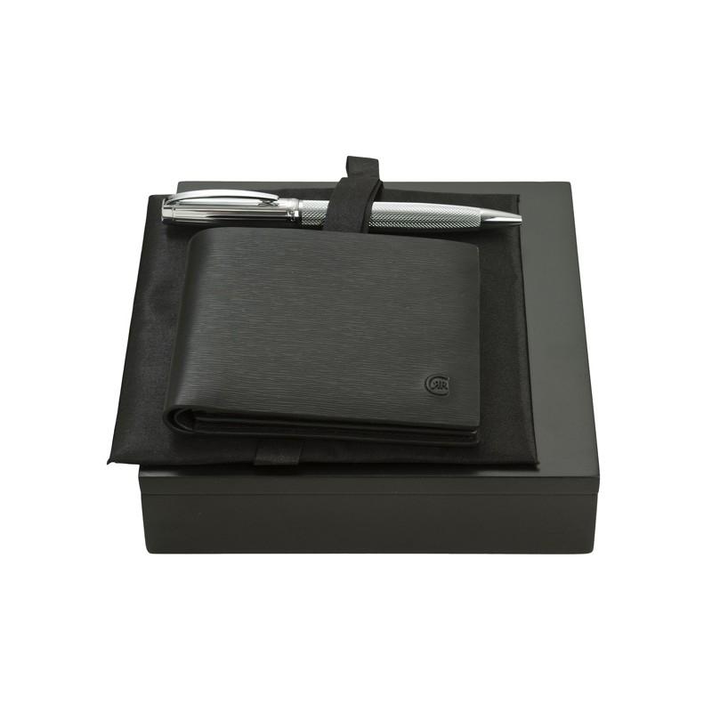 49-002 Parure portefeuille et stylo-bille Cerruti 1881 personnalisé