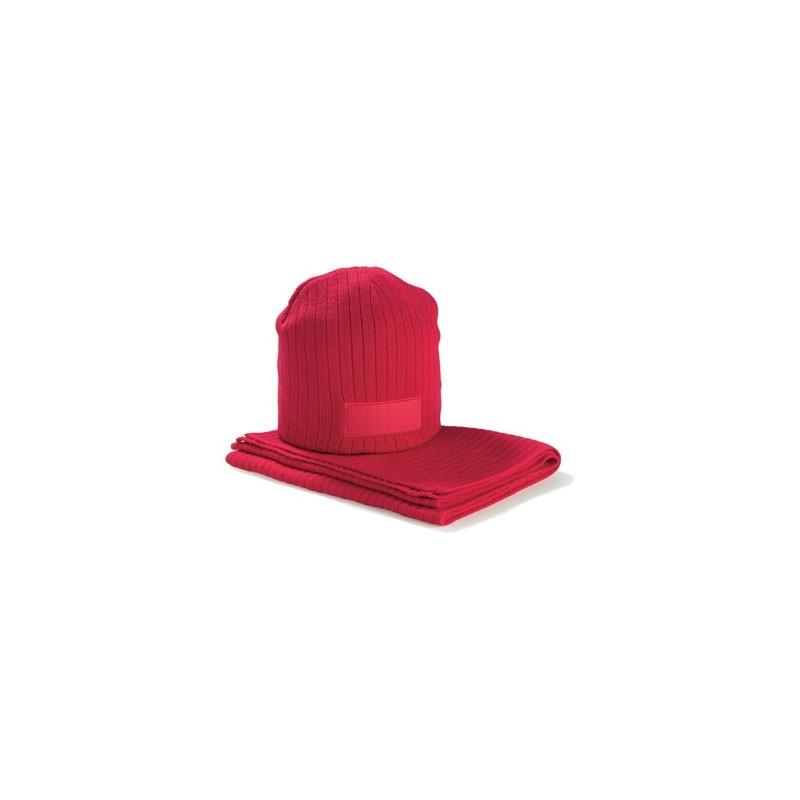 45-355 Set bonnet et écharpe personnalisé