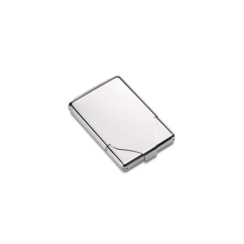 Porte cartes de visite métal - Porte-cartes de visite publicitaire