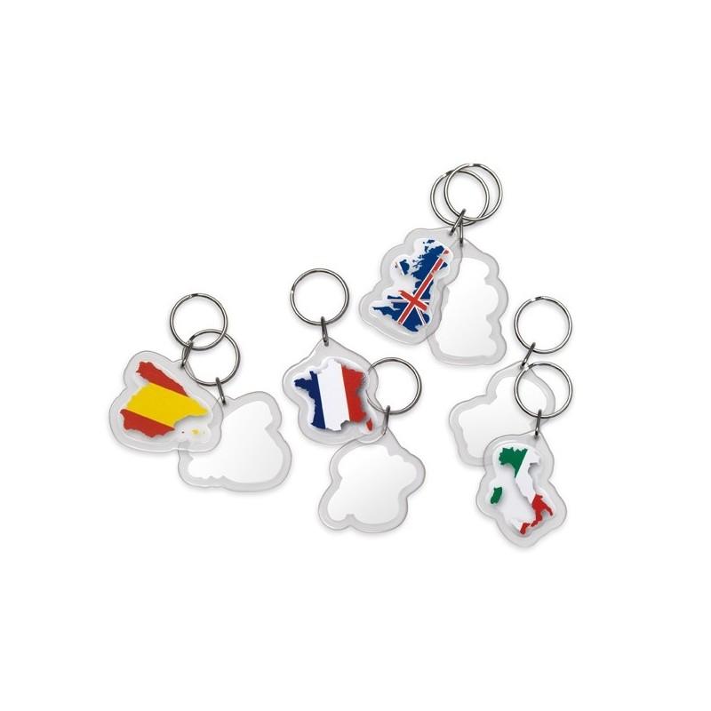 43-131 Porte-clés thématique Angleterre personnalisé