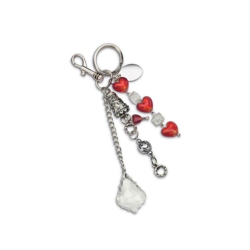 36-278 Porte-clés à perles en verre Gran Rosario II personnalisé