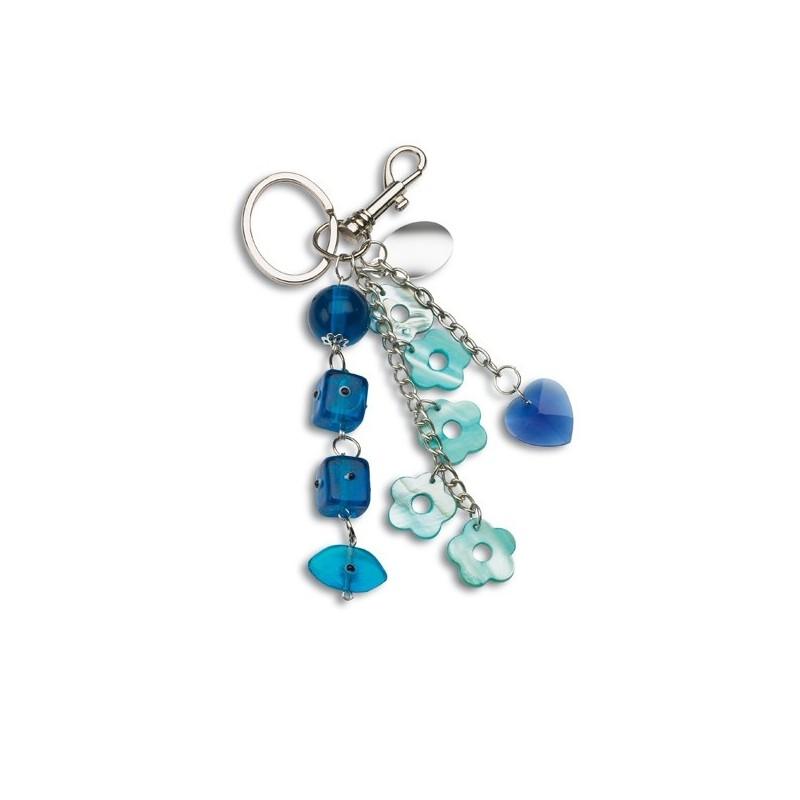 36-281 Porte-clés à perles en verre Gran Rosario V personnalisé