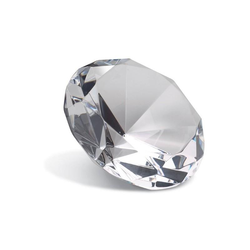 Presse-papiers Diamant 10 cm - Presse-papiers publicitaire