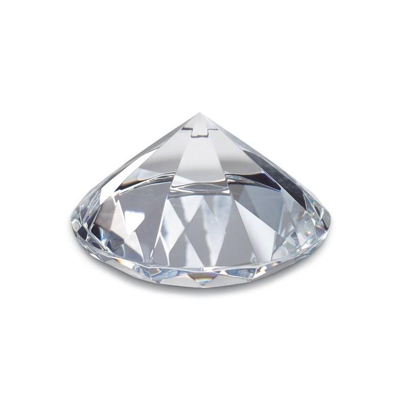 Presse papiers Diamant Cornella 8cm - Presse-papiers personnalisé