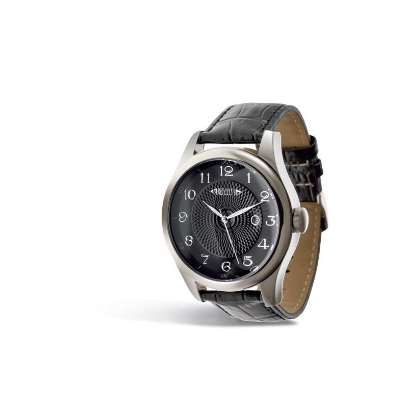Montre bracelet cuir 22 mm - Montre classique publicitaire