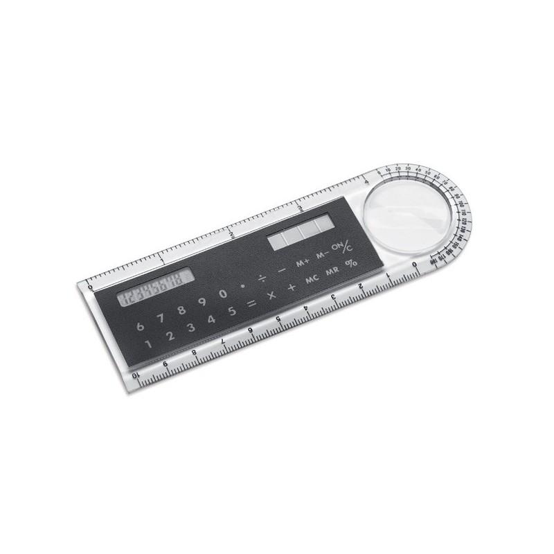Calculatrice solaire avec règle