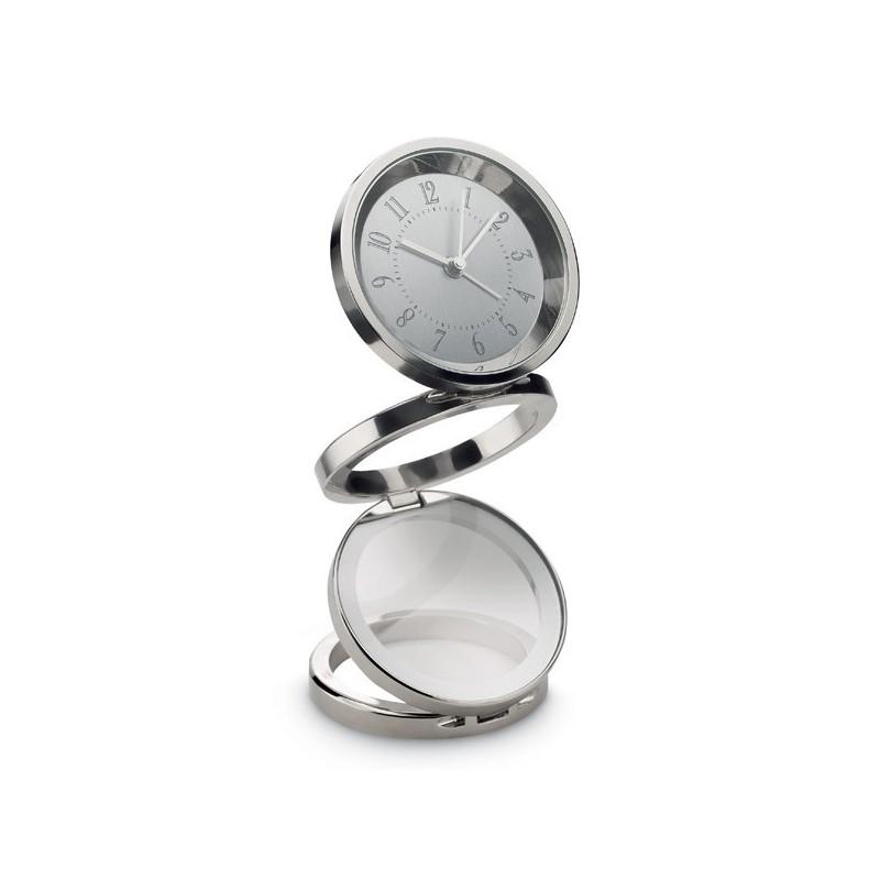 Horloge originale - Pendule de bureau publicitaire