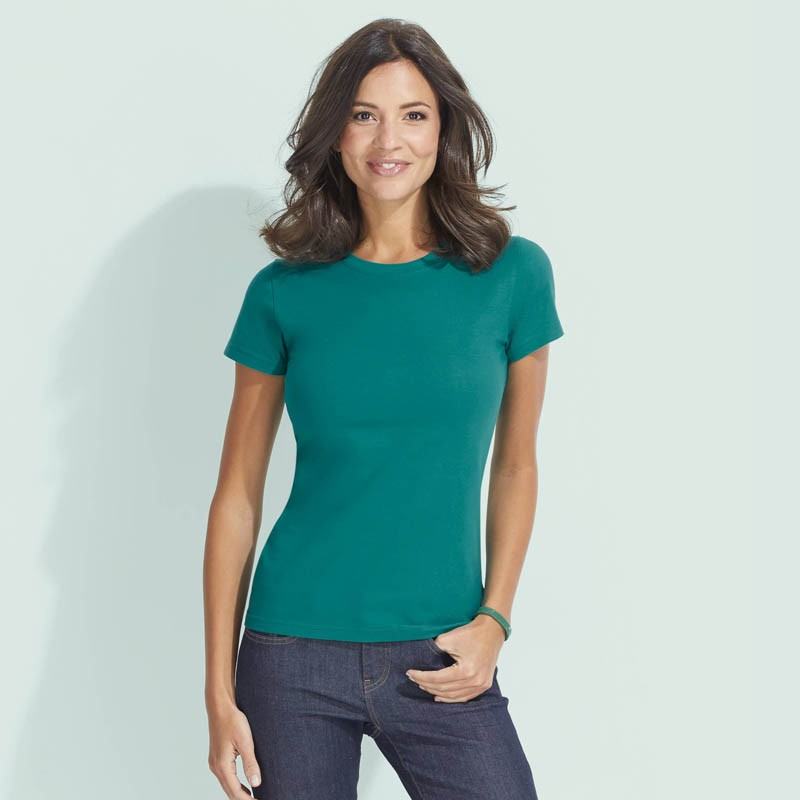 Tee shirt Imperial Women - T-shirt manches courtes publicitaire