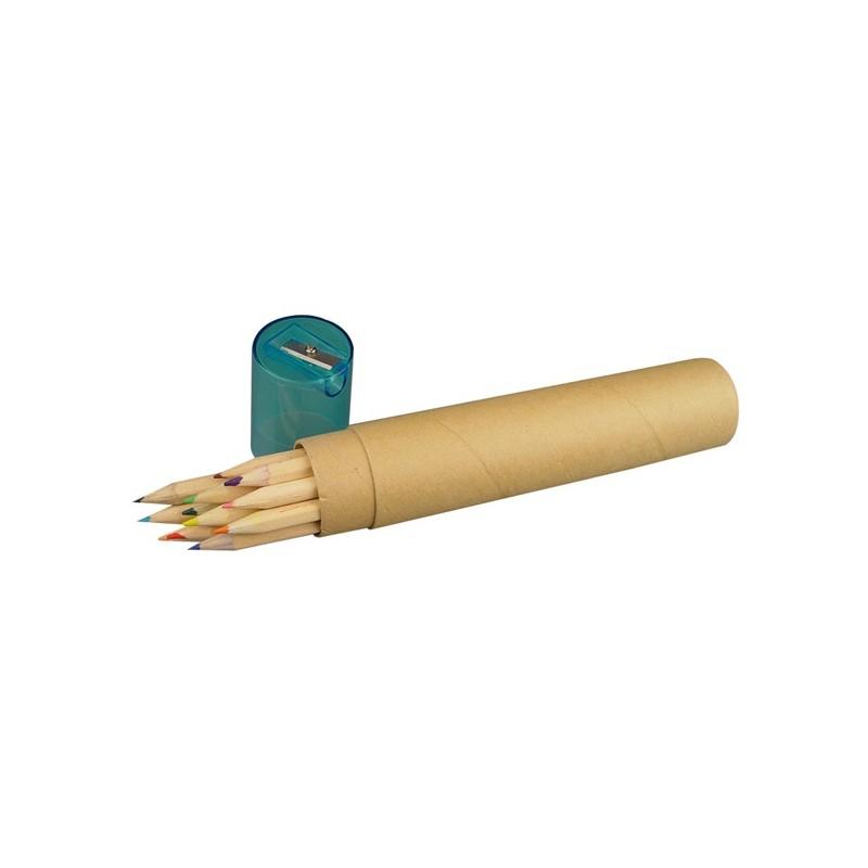 38-066 12 crayons de couleurs personnalisé
