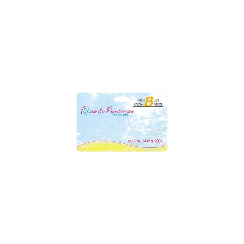 Badge PVC à la forme - Badge rectangulaire - cadeaux d'affaires