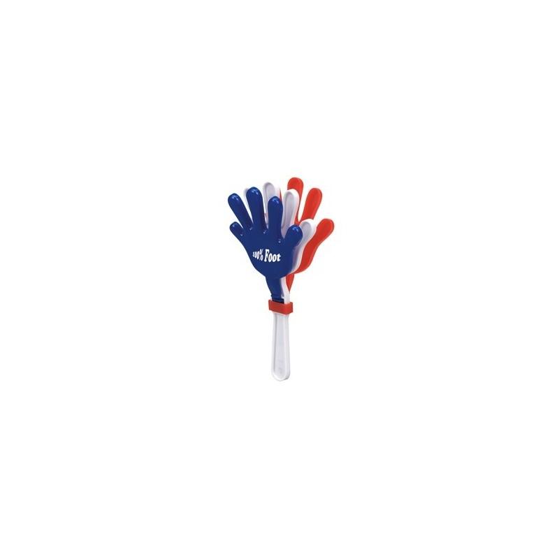 22-488 Applaudisseur bleu blanc rouge personnalisé