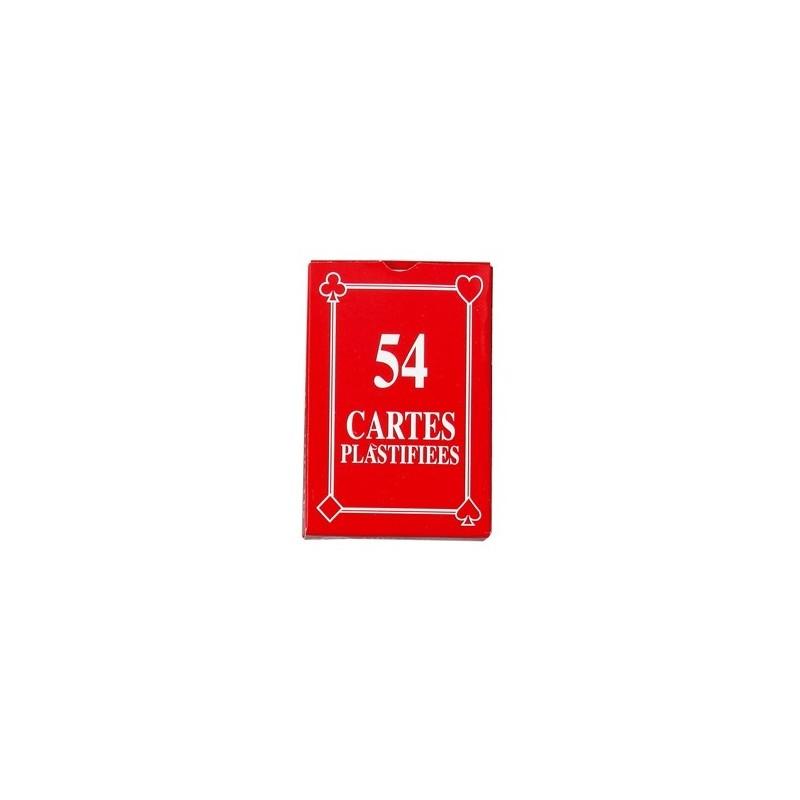 Jeu de 54 cartes françaises - Jeu de cartes publicitaire