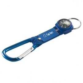 22-664 Porte-clés carabiner et boussole personnalisé