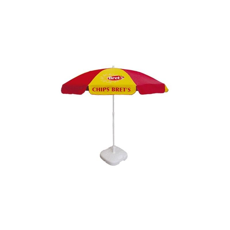 Parasol Cafe Rond Ø180 cm - Parasol publicitaire