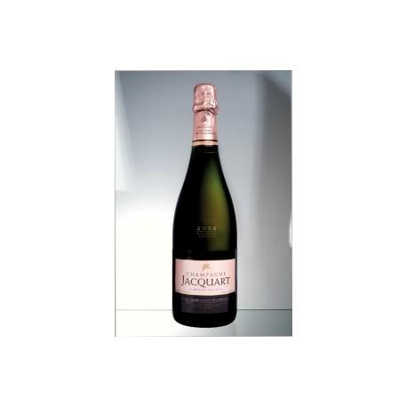 bouteille brut ros grand mill sime 2004 jacquart en tui champagne. Black Bedroom Furniture Sets. Home Design Ideas