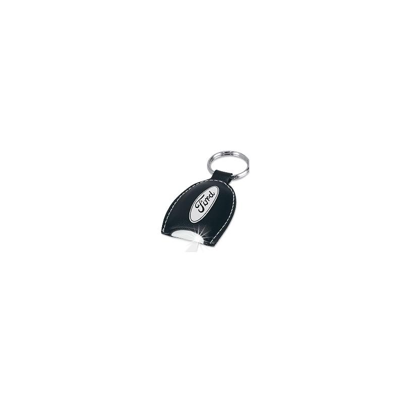 Porte clés publicitaire en Simili cuir - porte-clés cuir et simili personnalisé