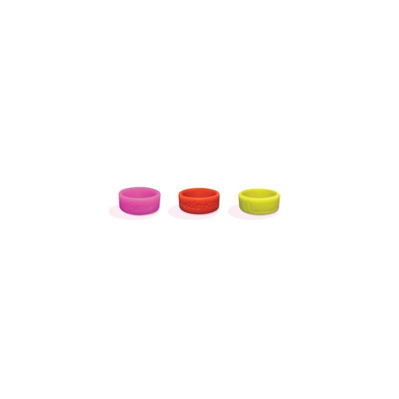 Bague silicone publicitaire - Bracelet en silicone publicitaire personnalisé