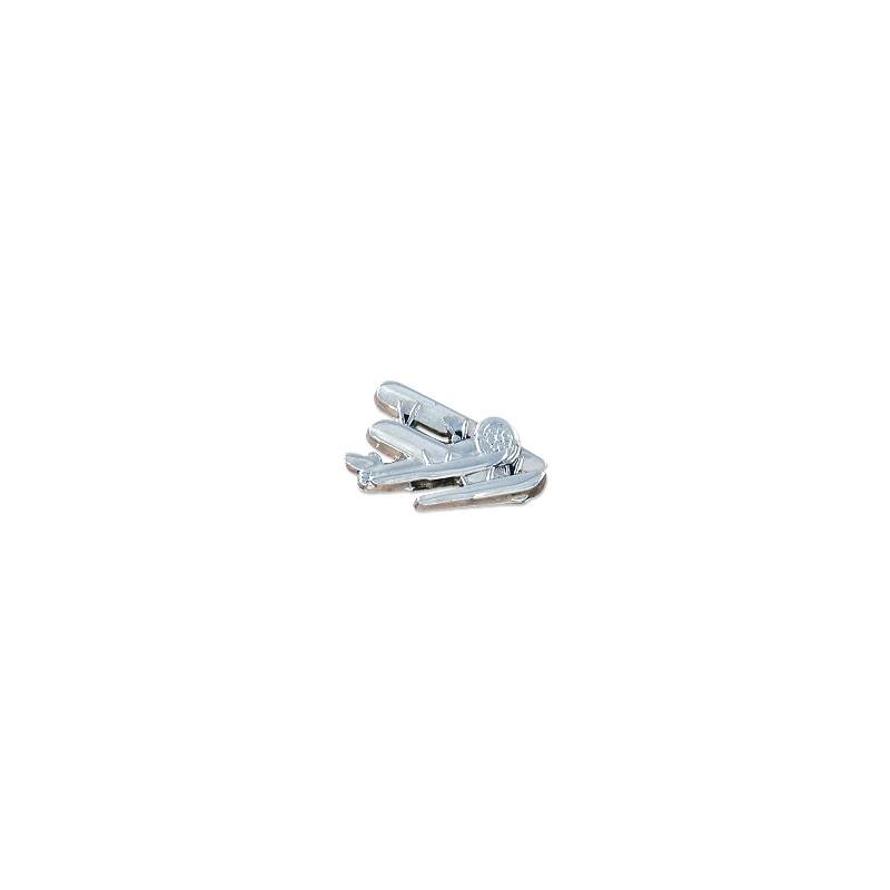 Pin's en zamac Silver - Pin's publicitaire - objets publicitaires