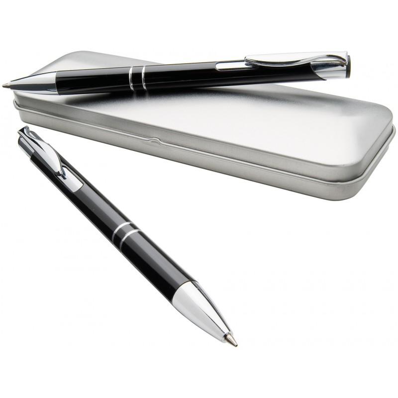 Parure de stylos Dublin - Stylo de luxe, parure personnalisé
