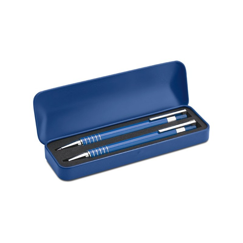 42-253 Set stylo bille étui métal  personnalisé