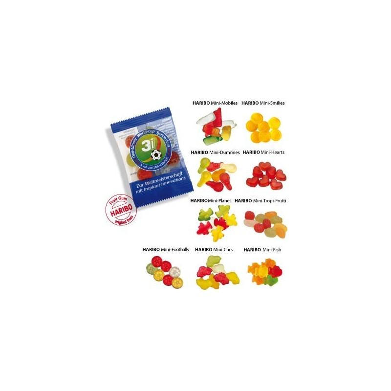 Sachet bonbons publicitaire et personnalisable Haribo - Bonbon personnalisé publicitaire