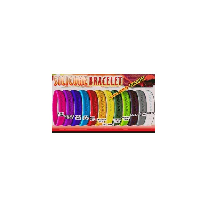 Bracelet en silicone Cool - Bracelet en silicone personnalisé