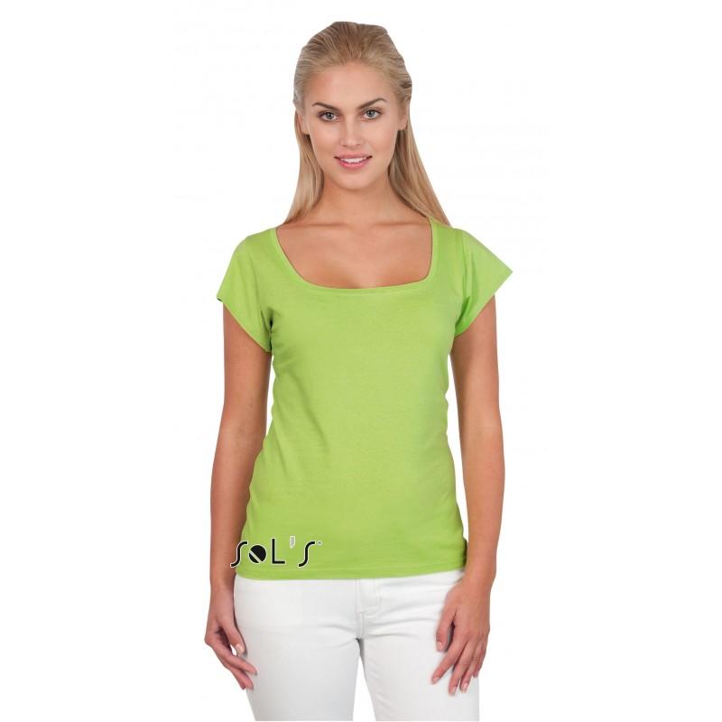 26-028 Tee shirt Melrose pour femme personnalisé
