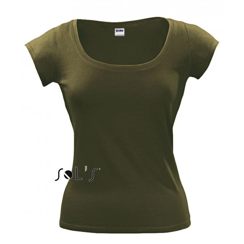 Tee shirt Melrose pour femme - T-shirt manches courtes publicitaire