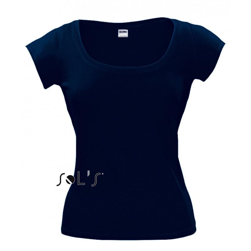 Tee shirt Melrose pour femme - T-shirt manches courtes sur mesure