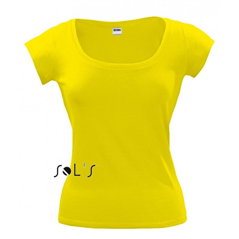 Tee shirt Melrose pour femme - T-shirt manches courtes - objets publicitaires