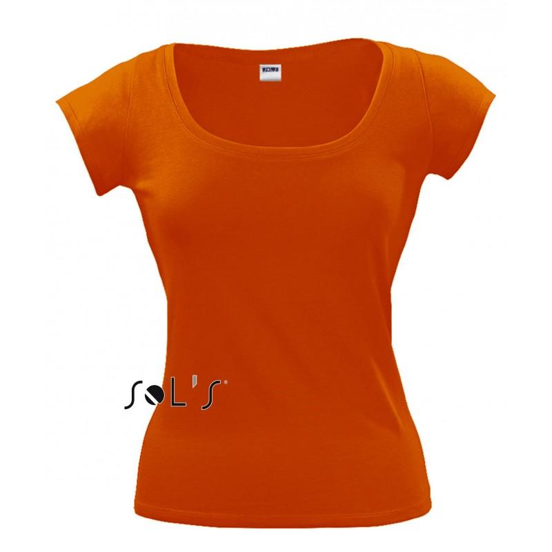 Tee shirt Melrose pour femme - T-shirt manches courtes - objets promotionnels