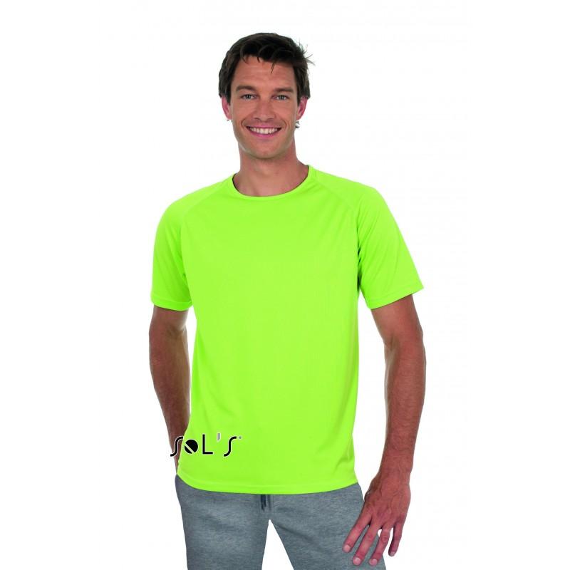 26-240 T-shirt unisexe manches raglan Sporty personnalisé
