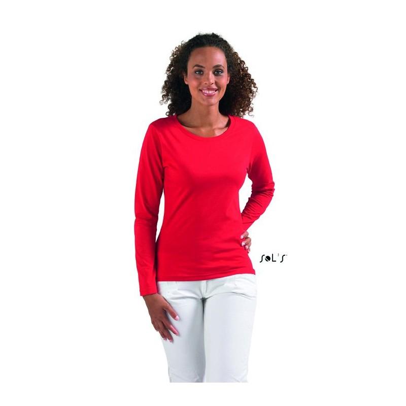 Tee shirt manches longues  - T-shirt manches longues - publicité par l'objet