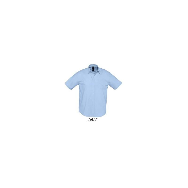 Chemisette publicitaire homme Brisbane - chemise publicitaire homme - objets publicitaires
