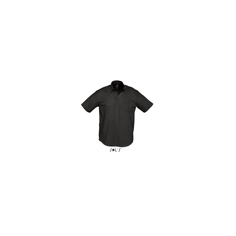 Chemisette publicitaire homme Brisbane - chemise publicitaire homme - cadeaux d'affaires