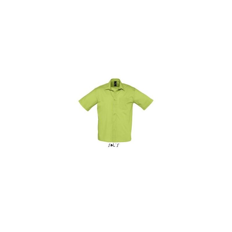 Chemise publicitaire homme MC Bristol - chemise publicitaire homme - objets promotionnels