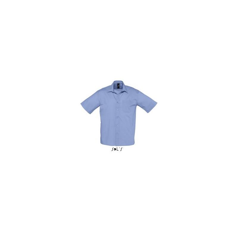 Chemise publicitaire homme MC Bristol - chemise publicitaire homme - cadeaux d'affaires