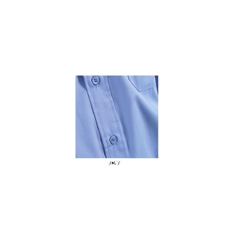 Chemise publicitaire homme MC Bristol - chemise publicitaire homme - produits incentive