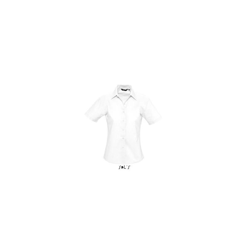Chemisette femme Elite - chemise publicitaire femme - marquage logo