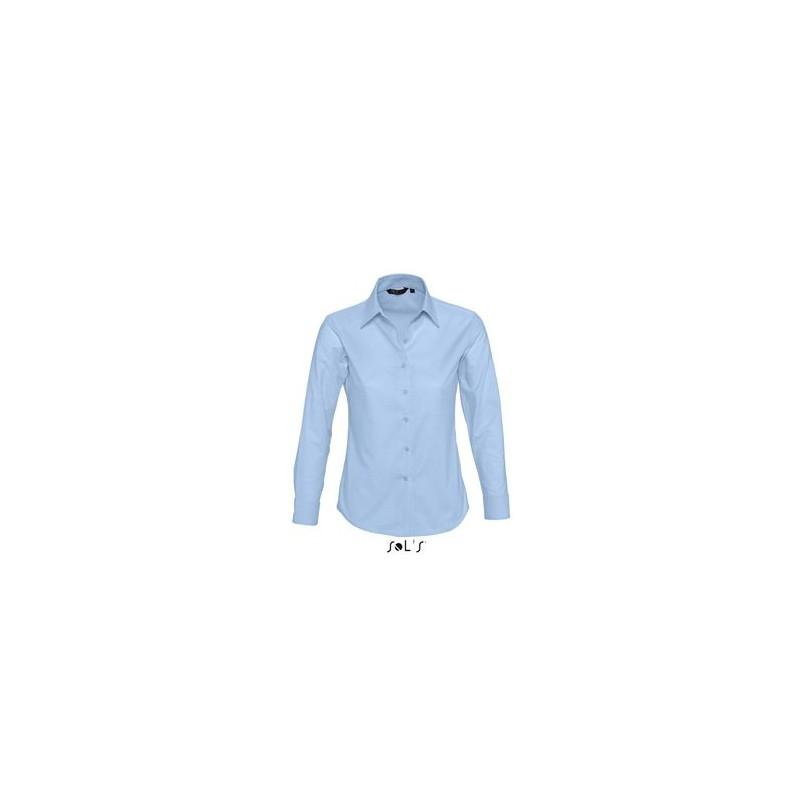 Chemise femme ML Embassy - chemise publicitaire femme - cadeau d'entreprise personnalisé