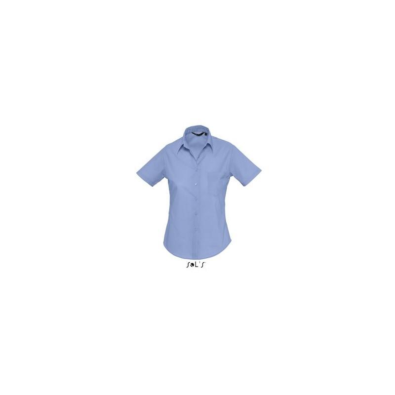 Chemise pour femme Escape - chemise publicitaire femme - marquage logo