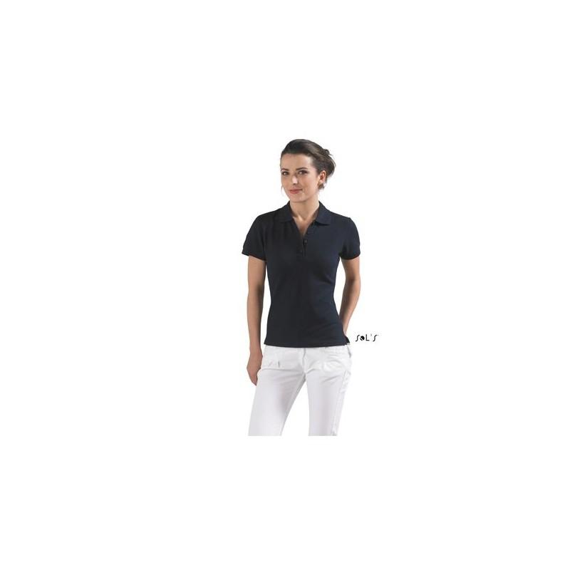 Polo piqué femme People - Polo manches courtes - objets promotionnels