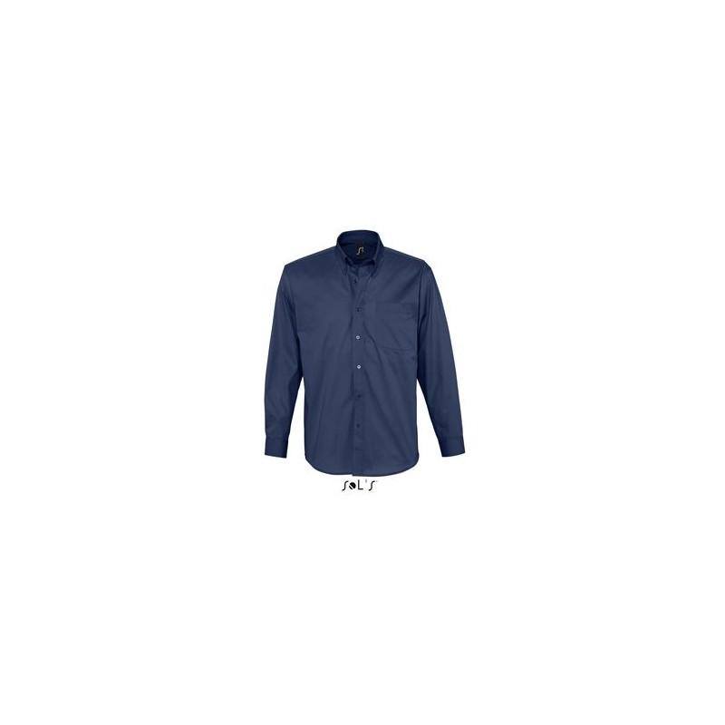Chemise homme twill de coton Bel Air - chemise homme - marquage logo